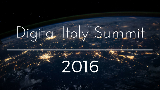 Digital Italy Summit 2016