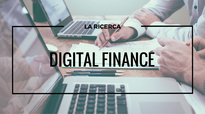 Digital Finance: lo stato dell'arte in Italia