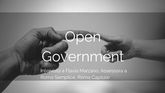 Open Government: intervista a Flavia Marzano